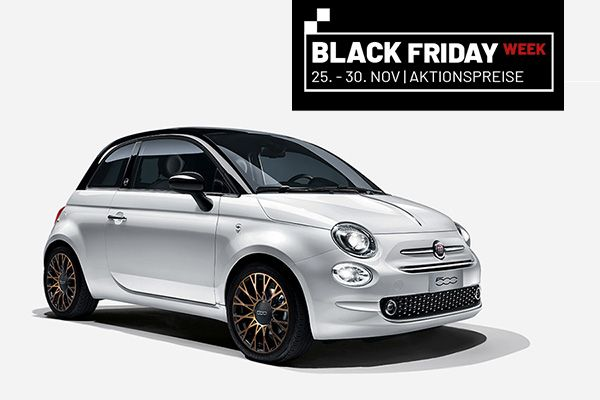 BLACK FRIDAY WEEK DEAL: Fiat 500 120-th Editon
